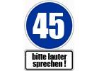 45. Geburtstag Glückwünsche