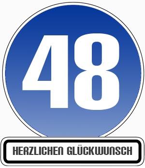 48. Geburtstag Glückwünsche