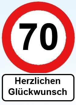 70. Geburtstag
