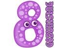 Glückwünsche zum 8. Geburtstag
