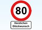 80. Geburtstag Gl�ckw�nsche