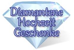 Diamantene Hochzeit Geschenkidee