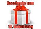 Geschenke 16. Geburtstag
