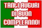 Herzlichen Glückwunsch zum Geburtstag auf italienisch