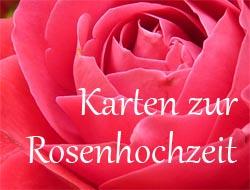 einladung zur rosenhochzeit | brillebrille, Einladung