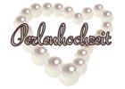 Glückwünsche zur Perlenhochzeit