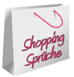 Shopping Spr�che