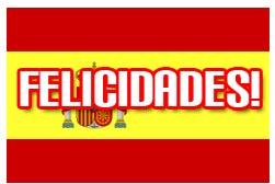Spanische Geburtstagsgrüße