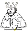 König Malvorlage