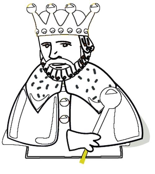 König Malvorlage Für Kinder