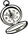 Kompass Malvorlage