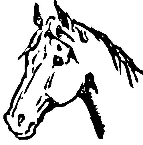 Kopf Eines Pferdes Zum Ausdrucken Kostenlos