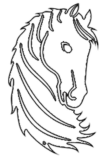 pferdemotive zum ausdrucken kostenlos