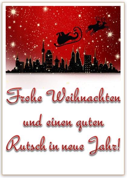 Vorlage Weihnachtskarte